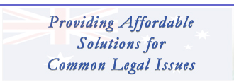 Providing Affordable Solutions for Common Legal issues