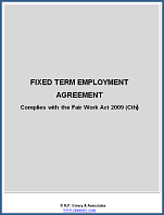 Fixed Term Employment Contract available for immediate download