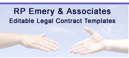 Legal document contract templates, Legal Forms - RP Emery HOME
