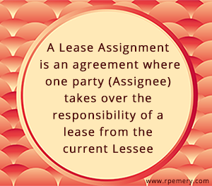 lease assignment agreement