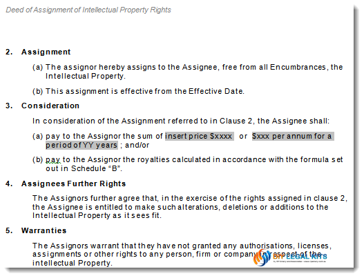 Property Buying Financial Agreement